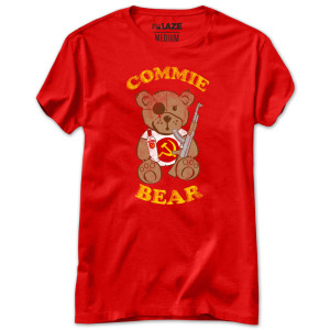 Commie Bear Fashion Fit Women's T-Shirt