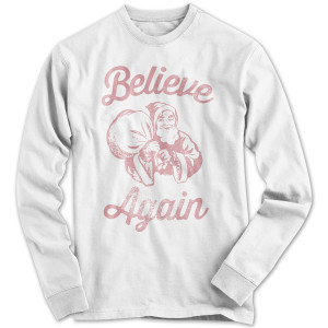 1791 Believe Again Red Faded Long-Sleeve Shirt