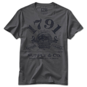 1791 Rugged & Durable T-Shirt