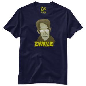 Evnile T-Shirt - Navy
