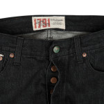 1791 Black Selvage Coal Miners' Wash Straight-Leg
