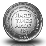 1791 Hard Times Made Us Coin