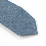 Chambray Cotton Tie - 3""