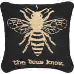 Glenn Beck The Bees Know Tapestry Pillow