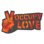 Occupy Love Window Cling