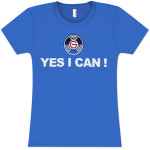 Yes I Can Women's Fashion T-Shirt