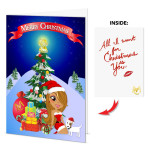 Mariah Carey Xmas Greeting Card Set