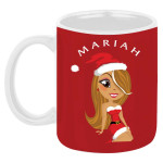 Mariah Carey Cartoon Mug