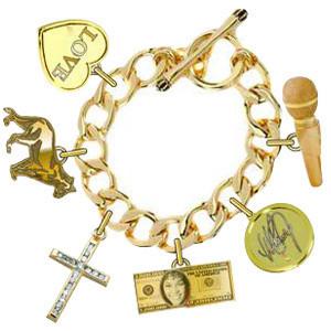 Whitney Houston Charm Bracelet