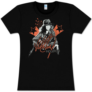 Whitney Houston Star Lounge Girls Tee