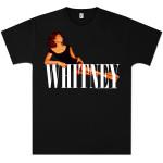 Whitney Houston Lying Logo T-Shirt