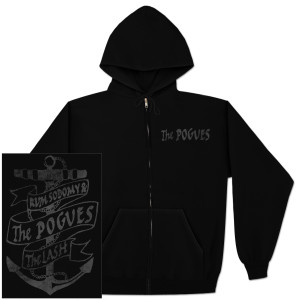 The Pogues Anchor Zip Hoodie