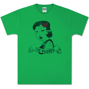 The Pogues Green Tattoo T-Shirt