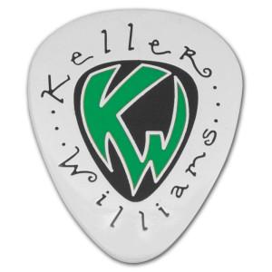 Keller Williams - Green Lapel Pin