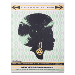 Keller Williams 2013 NYE Limited Edition Poster