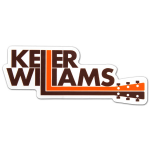 Keller Williams Guitar Neck Sticker