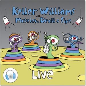 Keller Williams Live CD/DVD