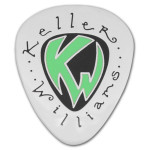 Keller Williams - Glow In The Dark Lapel Pin