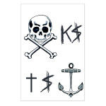 Ke$ha Temporary Tattoos