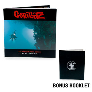 Gorillaz World Tour Program + Special Bonus Booklet