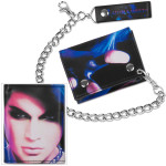 Adam Lambert Face Chain Wallet