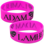 Adam Lambert Eyes Wristband