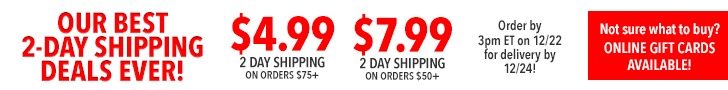 2-Day Shipping Offers!