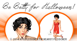 Be Betty for Halloween!