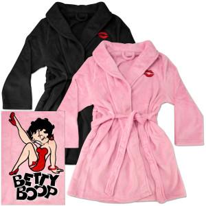 Betty Boop Leg Kick Bathrobe