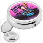 Betty Boop Motorcycle Pill Box