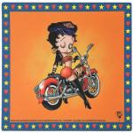 Betty Boop Biker Mouse Pad