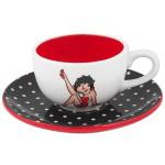 Betty Boop Dots Cup & Saucer Set