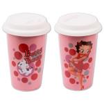 Betty Boop Dots Double Wall Travel Mug
