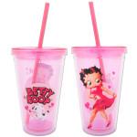 Betty Boop 18oz Acrylic Travel Cup