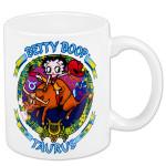 Betty Boop Taurus Zodiac Mug