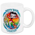 Betty Boop Cancer Zodiac Mug