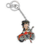 Biker Betty Keychain