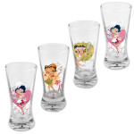 Betty Boop Retro Flared Shot Glasses