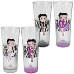 Betty Zebra Flared Highball Glasses