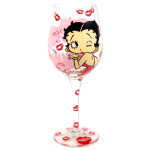 Betty Boop - XOXO Wine Glass