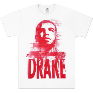 Drake Stencil Portrait T-Shirt
