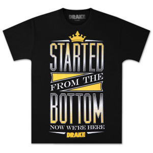 Drake TL-D-M-4-Started From The Bottom T-Shirt
