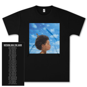 Drake Nothing Was The Same Baby Dateback T-Shirt - black