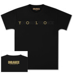 Drake Black YOLO T-Shirt