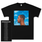 Drake Nothing Was The Same Dateback T-Shirt - black