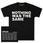 Drake Nothing Was The Same Text T-Shirt