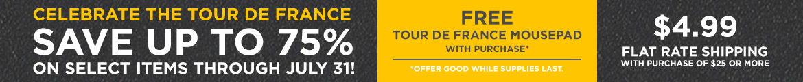 Tour de France Savings!