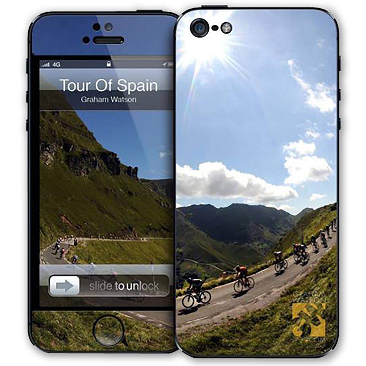 Graham Watson Tour Of Spain iPhone 5 Skin