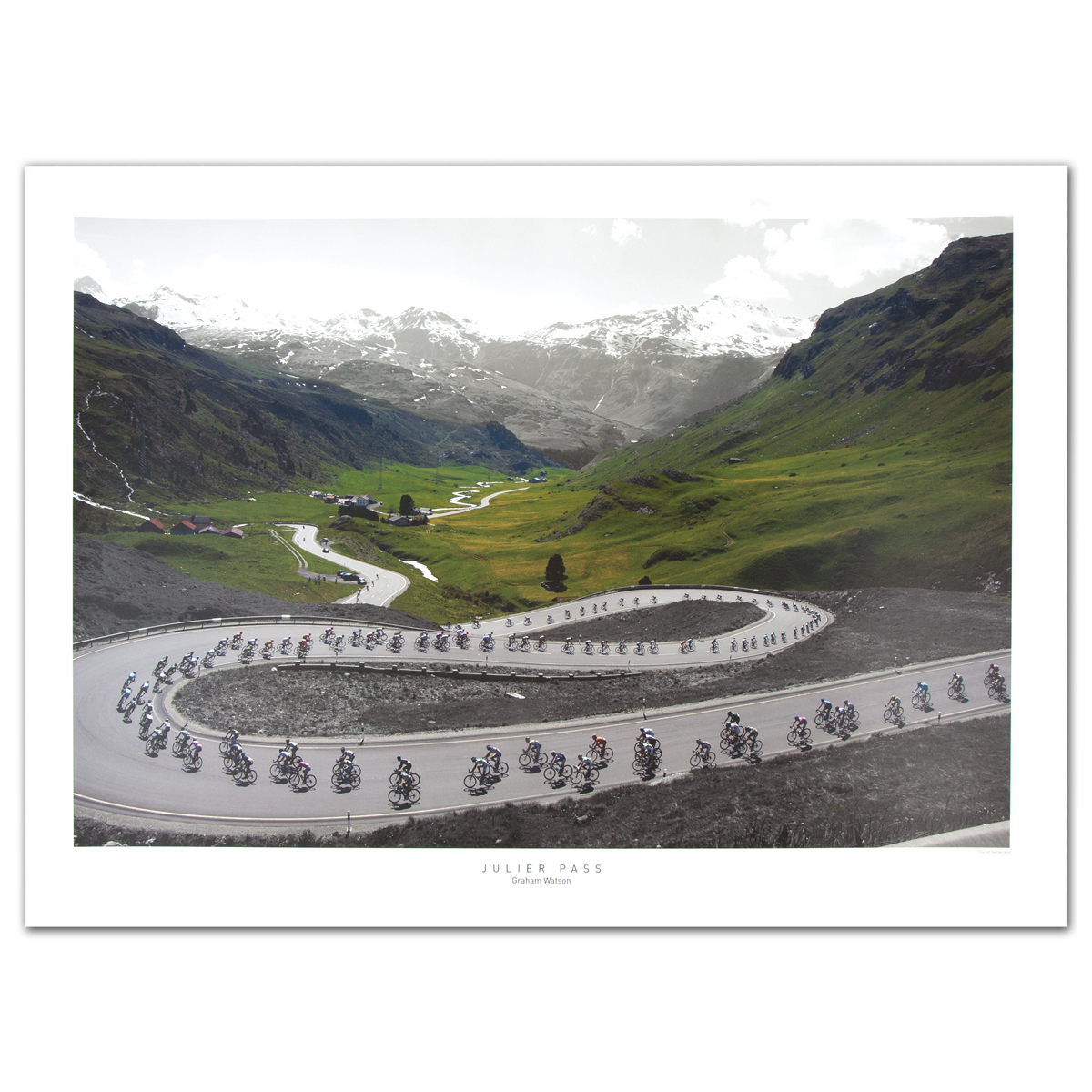 2013 Tour de Suisse - Julier Pass Poster