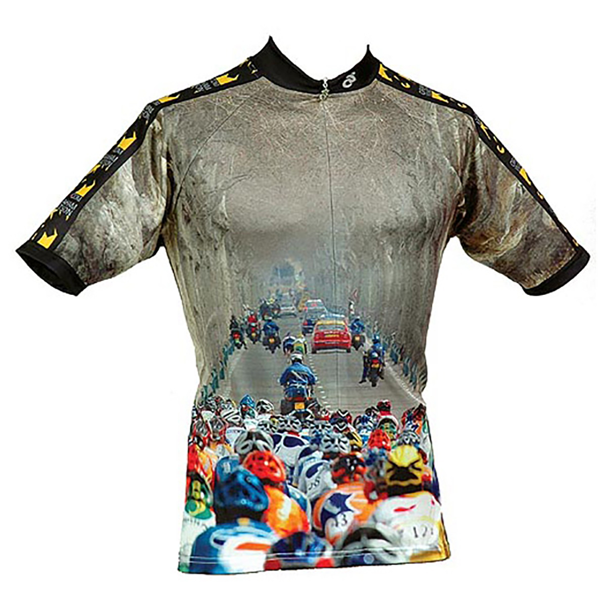Paris-Nice Trees Cycling Jersey - Men's Cut